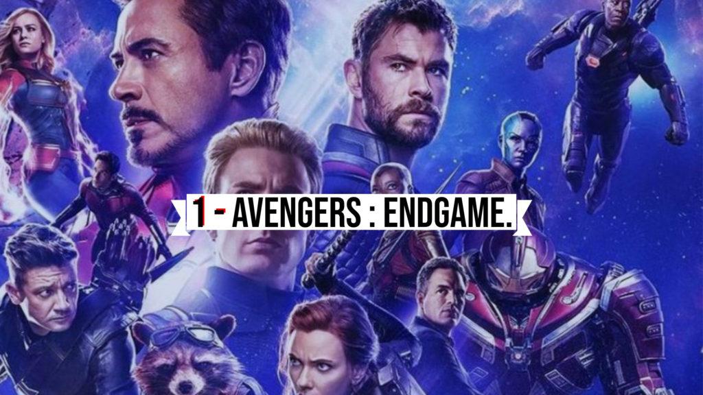 1 - Avengers Endgame.